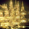 Trafalgar Square Christmas Lights by Robert Hallmann
