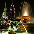 Trafalgar Square by Helene U Taylor