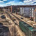 Traffic On Lincoln Street by Bob Orsillo