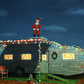 Trailer House Christmas by James W Johnson