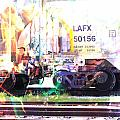 Train Abstract Blend 6 by Anita Burgermeister