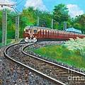 Train by Adhijit Bhakta