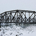 Train Bridge Over The Genesee River by Tracy Winter