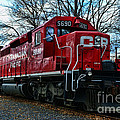 Train - Canadian Pacific 5690 by Paul Ward
