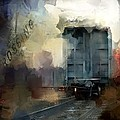 Train Crossing by Evie Carrier