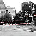 Train Crossing by Sandi OReilly