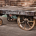 Train Depot Baggage Cart 2td by Greg Jackson