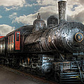 Train - Engine - 6 Nw Class G Steam Locomotive 4-6-0  by Mike Savad