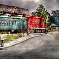 Train - Engine - Black River Western by Mike Savad
