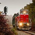 Train Engine by Dennis Coates