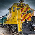 Santa Fe Southern Railway Engine by Gej Jones