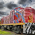 Train From The 60's by Duane Angles