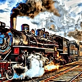 Train II by Carlos Diaz