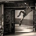 Train Jumping by Bob Orsillo
