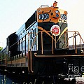 Train Museum - End Of The Line - Canadian National Railway by Barbara Griffin