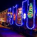 Train Of Lights by Garry Gay