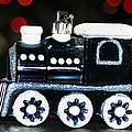 Train Ornament by Mechala Matthews