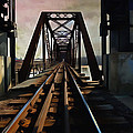 Train Rail Bridge  by L Wright