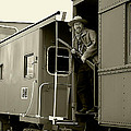 Train Robber by Marcia Colelli