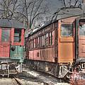 Train Series 4 by David Bearden