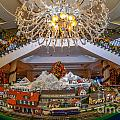 Train Set At Charleston Place Hotel by Dale Powell