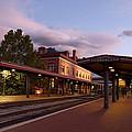 Train Station by Jeannette Hunt