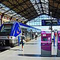 Train Station Marseille France by Jeff Black