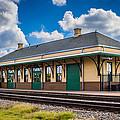 Train Station by Sandi Cintron