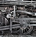 Train - The Wheels Are Turning  by L Wright