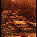 Train Track North by LaDonna Fisher-Hadley