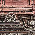 Train Wagon by Delphimages Photo Creations