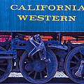 Train Wheels by Garry Gay