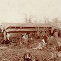 Train Wreck, 1890s by Granger