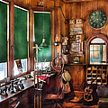 Train - Yard - The Stationmasters Office  by Mike Savad