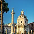 Trajans Column - Rome by Brian Jannsen