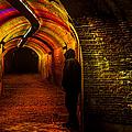 Trajectum Lumen Project. Ganzenmarkt Tunnel 9. Netherlands by Jenny Rainbow