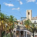 Tram In Lisbon by Luis Alvarenga