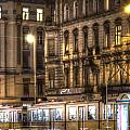 Tram Night by Nathan Wright