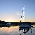 Tranquil Moorings by Malcolm Snook