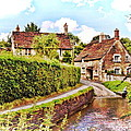 Tranquil Stream Lacock by Paul Gulliver