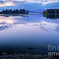 Tranquil Sunset by Idaho Scenic Images Linda Lantzy