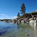 Tranquil Tahoe Beach by Kristina Lammers