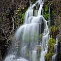 Tranquil Waterfall by Athena Mckinzie