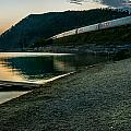 Trans Siberian Sunset by Andrew Matwijec