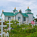 Transfiguration Of Our Lord Russian Orthodox Church In Ninilchik-ak by Ruth Hager