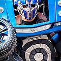 Transformer Man Mime by Kathleen K Parker