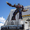 Transformers The Ride 3d Universal Studios by Edward Fielding