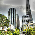 Transmerica Pyramid From The Embarcadero by SC Heffner