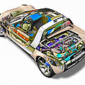 Transparent Car Concept Made In 3d Graphics 2 by Jeelan Clark