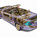 Transparent Car Concept Made In 3d Graphics 6 by Jeelan Clark